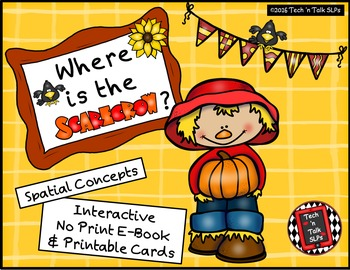 Where is the Scarecrow? - Spatial Concepts