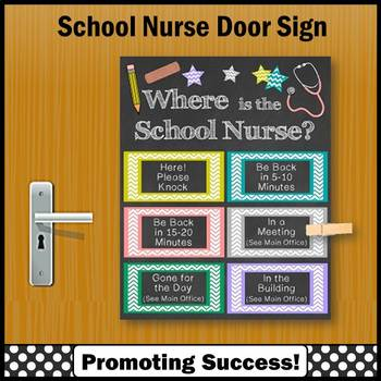 Where is the School Nurse Office Decor, End of Year Appreciation Gift