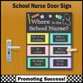 Where is the School Nurse Office Sign 8x10 or 16x20 NOT EDITABLE