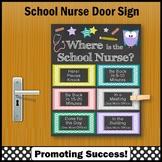 Where is the School Nurse Office Door Sign 8x10 or 16x20 NOT EDITABLE