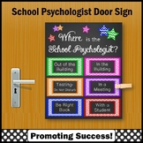 Where is the School Psychologist Poster 8x10 or 16x20