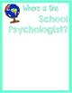 Where is the School Psychologist? Travel Theme Location Wheel