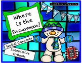 Where is the Snowman? - Spatial Concepts