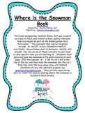 Where is the Snowman book - A book of positional concepts