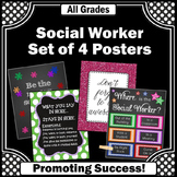 Where is the Social Worker Posters Set NOT EDITABLE Confidentiality Sign