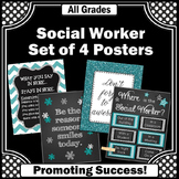 Where is the Social Worker Posters SET Confidentiality Sig
