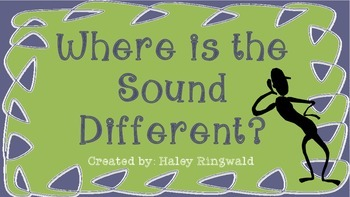 Where is the Sound Different?