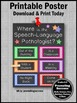 Where is the Speech and Language Pathologist Poster, SLP Door Sign, Office Decor