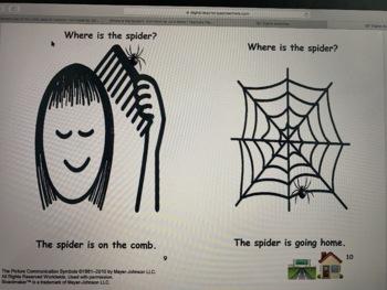 Where is the Spider?- mini book