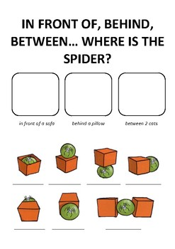 Where is the Spider? 2