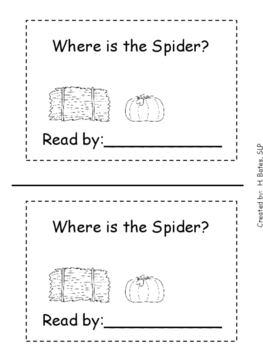 Where is the Spider Book on Spatial Concepts