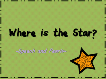 Where is the Star? Preposition Book