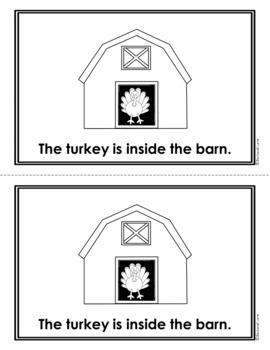 EMERGENT READER: Where is the Thanksgiving Turkey?