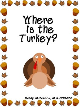 Where is the Turkey? - Speech & Language Therapy