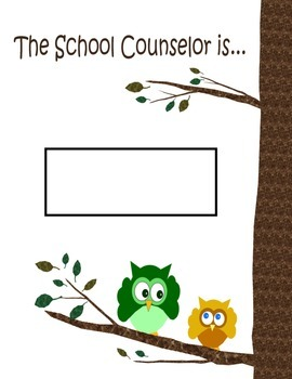 Owl Sign: Where is the counselor?