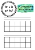 Where is the green sheep printable template