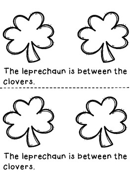 Where is the leprechaun? A positional word book