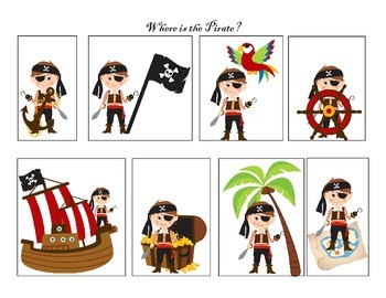 Where is the pirate?