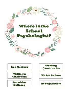 Where is the school psych?