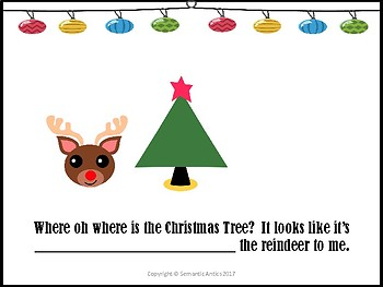 Where oh where is the Christmas Tree?