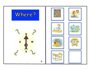 """Where"" picture match book"