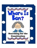 Where's Ben: Searching for the Constitution Task Cards