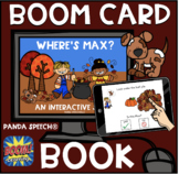 Where's Max BOOM Book (Boom Card Activity) Distance Learning