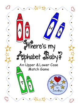Where's My Alphabet Baby?