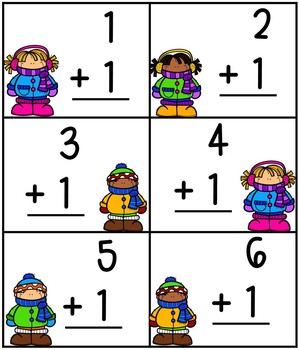 Where's My Mitten? Addition Interactive Learning Game