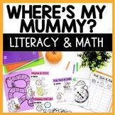 Where's My Mummy Literacy and Math Unit
