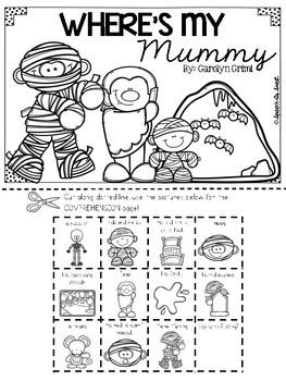 Where's My Mummy Literature Lap Book
