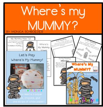 Where's My Mummy Literature Unit