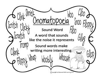 FREE Where's My Mummy? Onomatopoeia Word Game