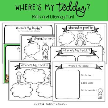 Where's My Teddy | Activity Pack