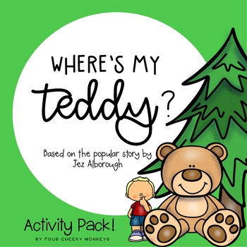 Where's My Teddy | Activity Pack