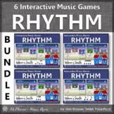 Christmas Music: Rhythm Games Interactive Music Games {Where's Santa?} Bundle