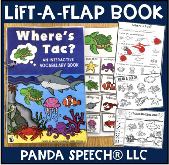 Where's Tac the Turtle? An interactive & adaptive book