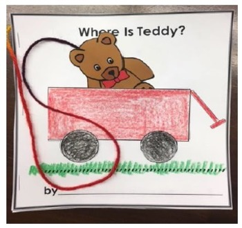 Where's Teddy Directional Words