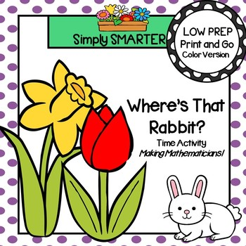 Where's That Rabbit?:  LOW PREP Time Activity