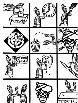 Where's Waldo?  Class room Rules and Procedures