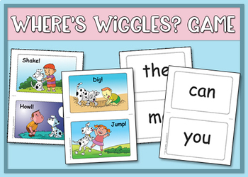 Where's Wiggles? Classroom Management Game