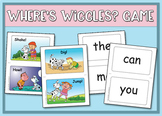 Where's Wiggles? Sight Word Game - Heidi Songs