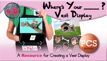 Where's Your ______? Vest Display - PCS