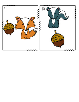 Where's the Acorn?- Positional Words Write the Room