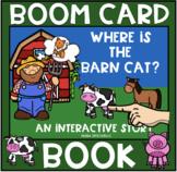 Where's the Barn Cat?  Boom Book (Boom Card Activity)  Dis