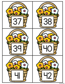 Where's the Bee? {0-100 Number Recognition}
