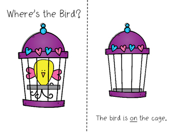 Where's the Bird? Positional Word Activities
