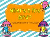 Where's the Bird? Positional Word Activities