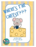 Where's the Cheese??? - An Open-Ended Activity for Speech Therapy