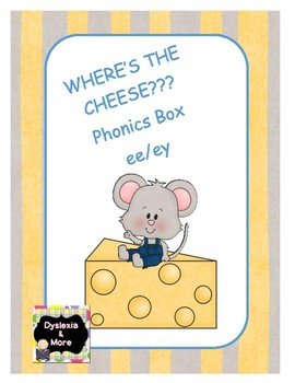 Where's the Cheese Phonics Box - ee/ey